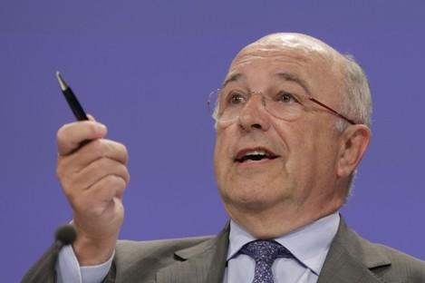 The European Commissioner for Competition Joaquin Almunia.