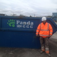 Panda worker found almost €3,000 in a skip and got it back to the rightful owner