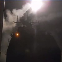 US Navy record missile attack on Islamic State group and upload it on YouTube