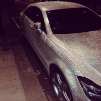 This Russian student has covered her car with a million Swarovski crystals