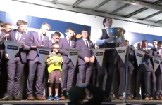 Tomás Ó Sé and Donnchadh Walsh had a dance-off at the Kerry homecoming last night