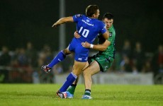 Robbie Henshaw was the Gavin Henson to Jimmy Gopperth's Matthew Tait last Friday