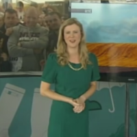 RTÉ meteorologist Nuala Carey had quite an audience at the Ploughing yesterday...