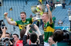 Kerry play their first match as All-Ireland champions later this evening