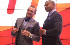 Conor McGregor spent Monday on a whistlestop media tour around Hollywood