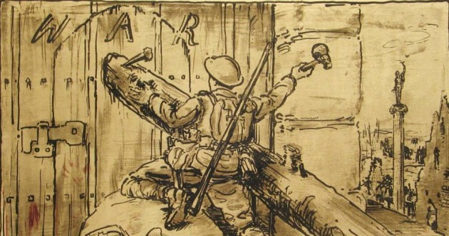 These prints show how artists reacted to World War I