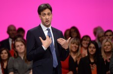 "He forgot to mention it in his speech ... but Ed Miliband insists the UK deficit is an ""incredibly high"" priority"