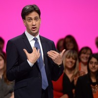 """He forgot to mention it in his speech ... but Ed Miliband insists the UK deficit is an """"incredibly high"""" priority"""