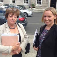 They didn't want her, but the Technical Group had an 'amicable' meeting with Lucinda Creighton today