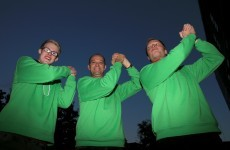 Nottingham Forest gave 1,000 fans green Brian Clough jumpers tonight