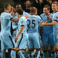 Frank Lampard had his scoring boots on for Man City again tonight