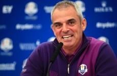 Enjoy Ryder Cup nerves, McGinley tells rookies