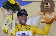 Hushovd makes Tour history for Garmin-Cervelo