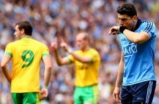 Bernard Brogan says the players are blaming themselves for the Donegal defeat