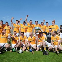 Antrim's hurlers make it ten in a row