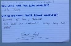 Homeless people answer the questions they're asked the most frequently