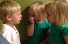 This little boy and girl arguing about the weather are the most adorable thing you'll see today
