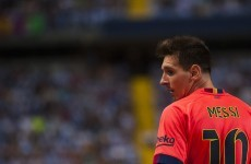 Messi thrown to ground after calling Weligton 'son of a wh*re'