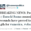 Fox News's hacked Twitter feed kills Obama