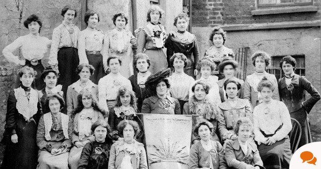 Extract: The passionate and inspirational women of the Irish Revolution – in photos