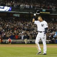 The legendary Derek Jeter hit the winning run for his perfect Yankee Stadium finale
