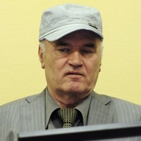 "Judges enter ""not guilty"" plea for Mladić after kicking him out of court"