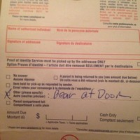 Nobody will argue with this postman's reason for not delivering a package