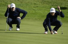 Ryder Cup 2014: Here's the latest from this afternoon's foursomes