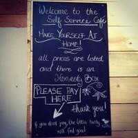 Inside the Dublin café which runs on trust... and a little caffeine