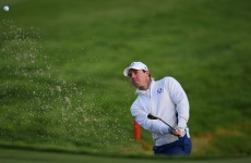 The afternoon pairings for the Ryder Cup foursomes have been announced