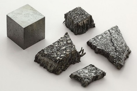 Lutetium, one of the four metals identified in a gigantic new haul of rare earth metals.