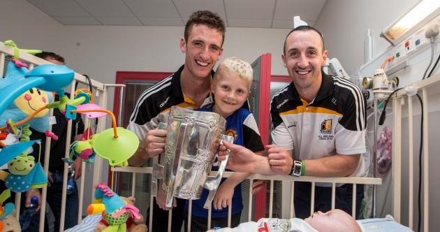 Smiles all round as Kilkenny bring Liam MacCarthy Cup to Children's Hospital