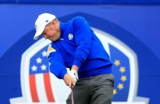 Jamie Donaldson hit a perfect wedge shot to win the Ryder Cup for Europe