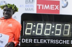 Kenya's Dennis Kimetto breaks marathon world record in Berlin