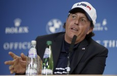 Mickelson questions Watson's Ryder Cup captaincy style