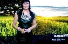 Jean Byrne's Xena-like necklace had everyone talking last night