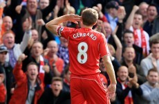I'm not finished yet - Steven Gerrard