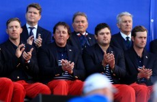 Faldo accuses Mickelson of 'throwing the captain under the bus'