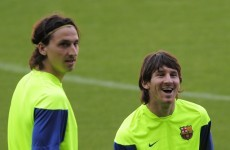 No Zlatan v Messi shootout as PSG star ruled out of Champions League clash