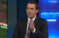 Gary Neville brilliantly dissects the goalkeeping of Liverpool's Simon Mignolet