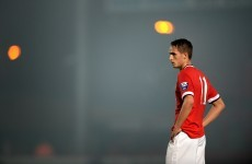 Adnan Januzaj scored a terrific free-kick tonight