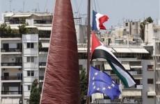 Greece blocks Gaza flotilla boat