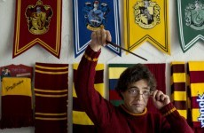 Here's (officially) the world's biggest Harry Potter hoarder