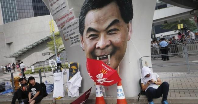 Hong Kong protesters batten down ahead of Chinese national holiday
