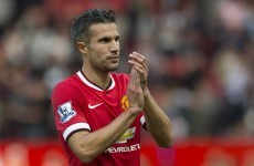 Robin van Persie: 'We have to make the top-four at least'