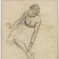 A painting of a ballerina putting on her shoe - worth €6 million - has been stolen