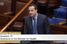 'I'll give my opinion as a doctor and young man at a later stage' - Varadkar