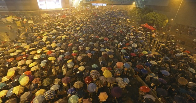"Hong Kong protesters: ""Nothing can stop us"""