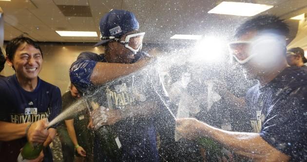 Baseball's postseason kicked off with some serious extra-innings drama last night