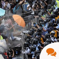 Opinion: The peaceful anarchy of Hong Kong's student protesters is infectious